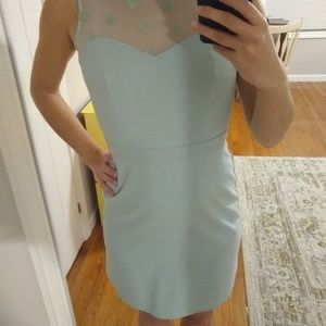 Mint cocktail dress